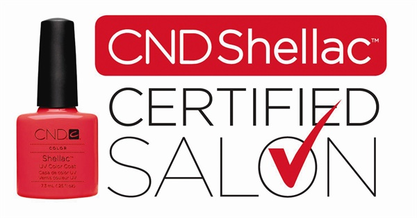 cnd Chellac certified salon